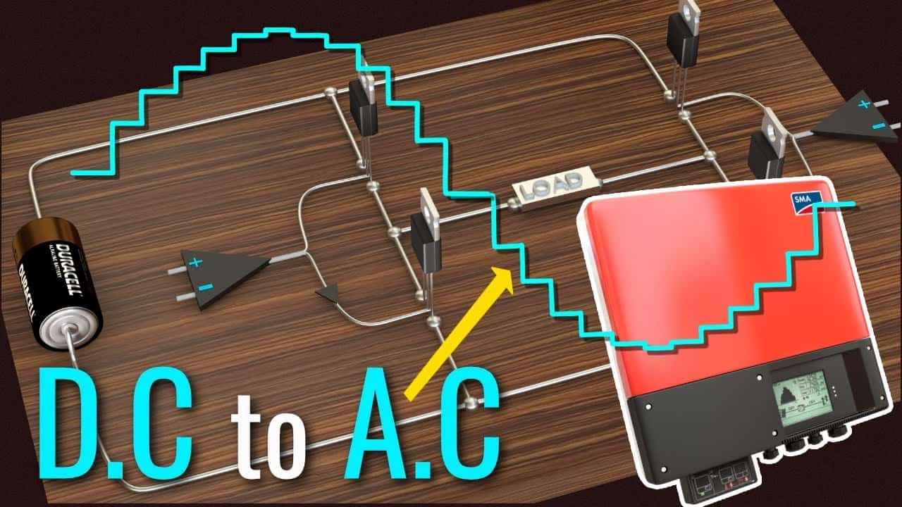 How an Inverter Converts DC to AC Power