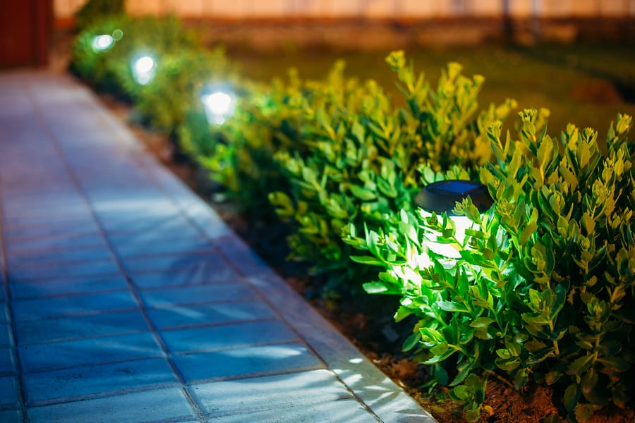 small solar garden lights
