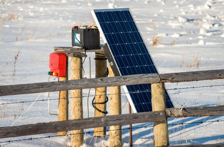 best solar powered electric fence charger
