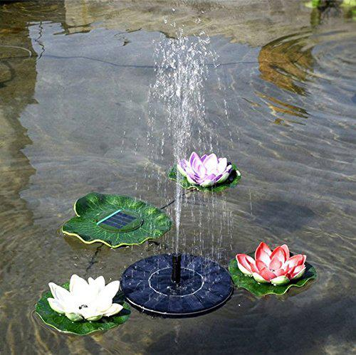 free standing solar fountain pump