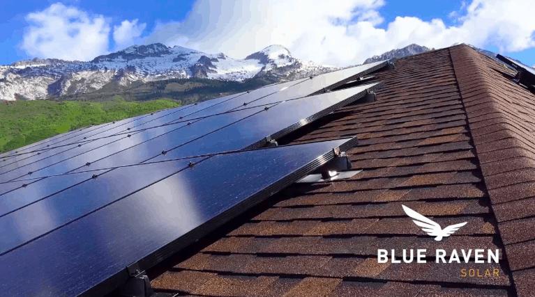 Blue Raven Solar installer