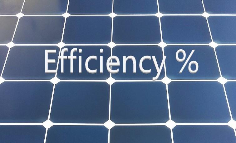 Increase Panel Efficiency