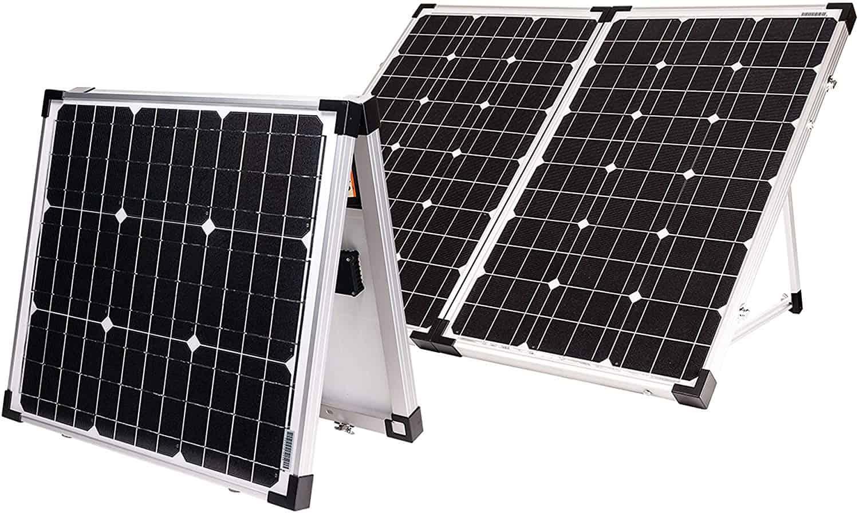 Go Power! GP-PSK-120 120W Portable Solar Kit