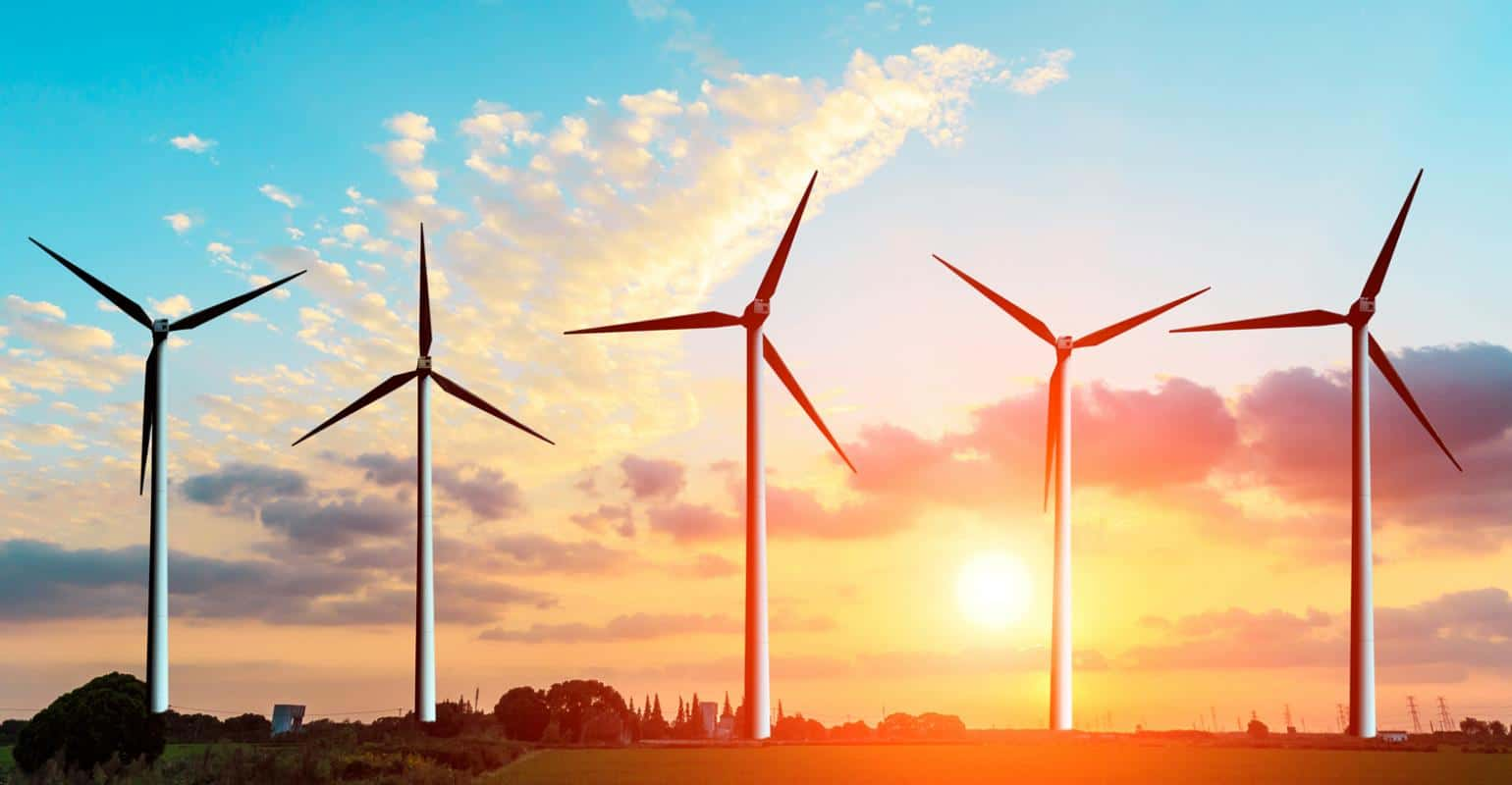 what is in a wind turbine