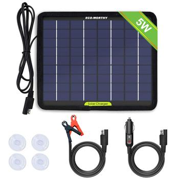 12 volt solar battery charger