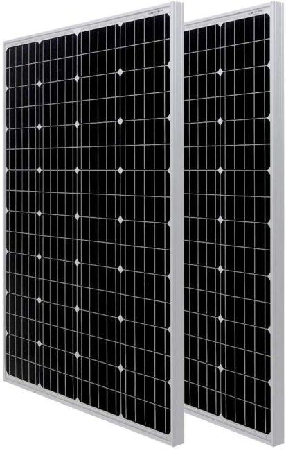 HQST 100W Monocrystalline Solar Panel