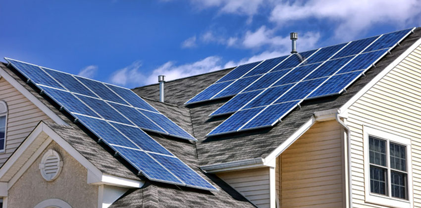 Large Solar Panel System Unit