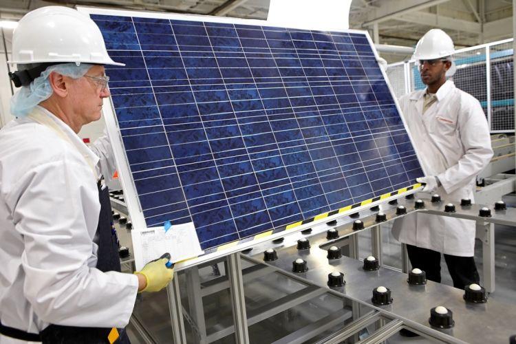 Making of Solar Panels