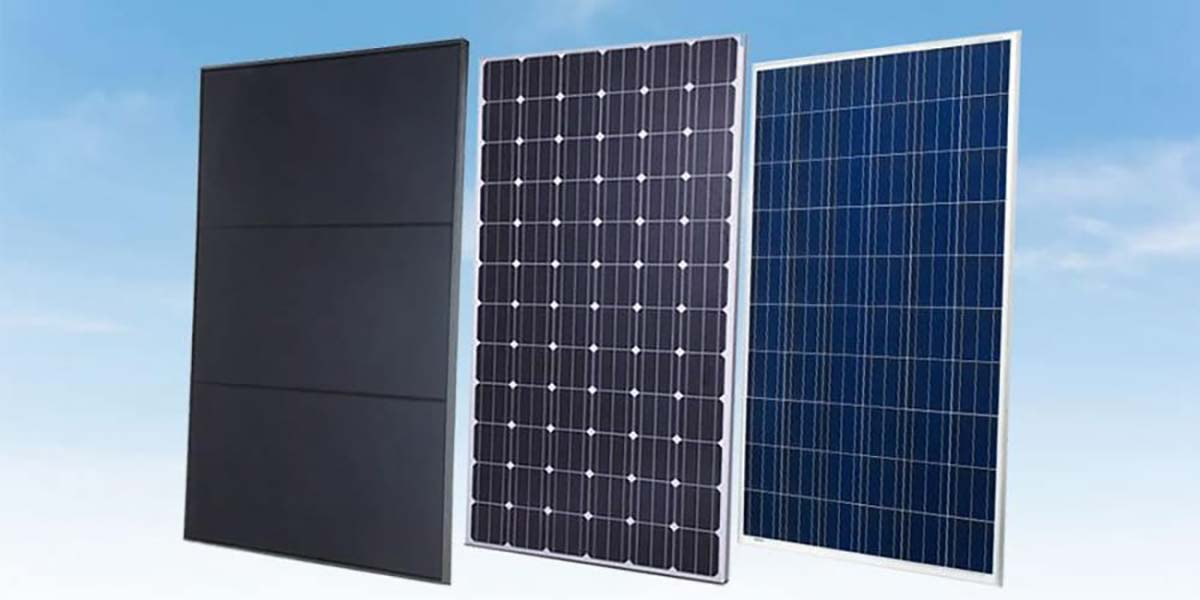 Monocrystalline and Polycrystalline Solar Panels