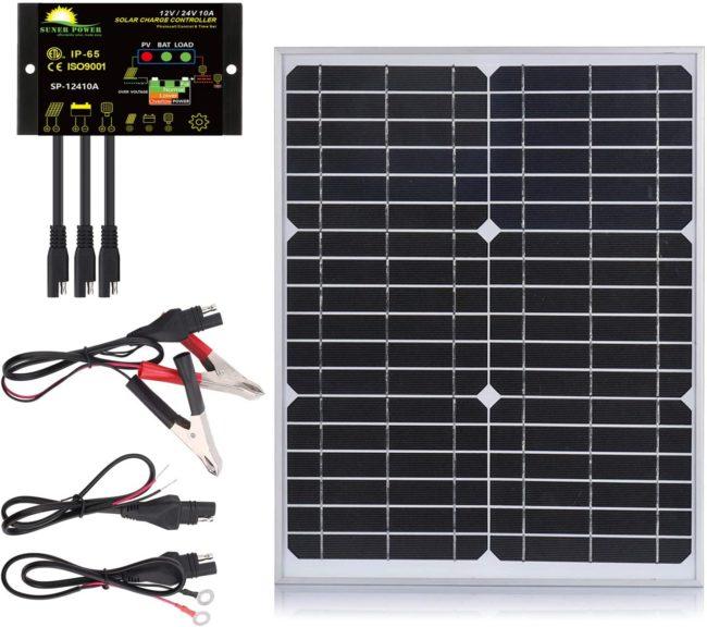 SUNER POWER Mono Crystalline Commercial Solar Panel Kit