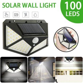 Solar Powered LED Motion Sensor