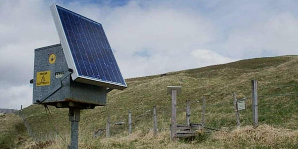 Solar Electric Fence Chargers
