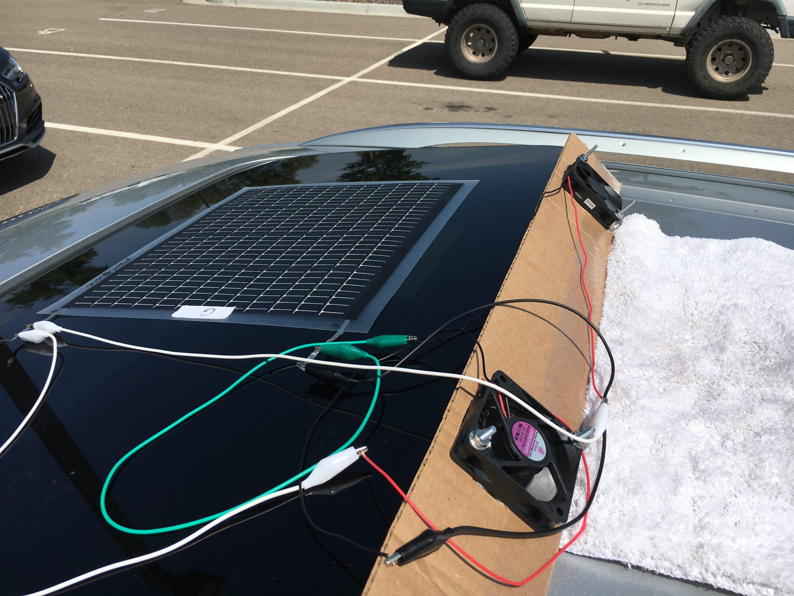 Best Solar Power Car Fans