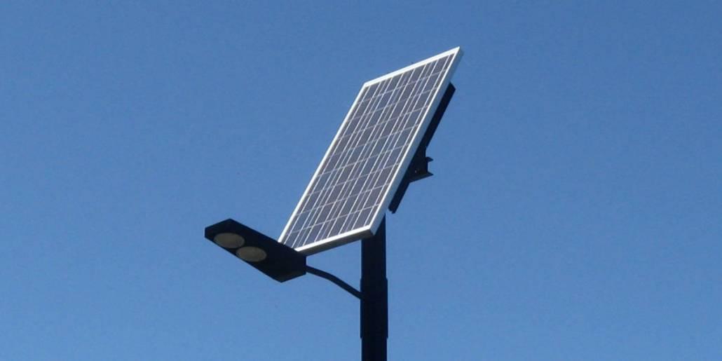 Solar Lamp Posts
