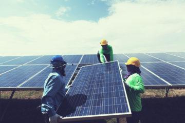 solar panel weight