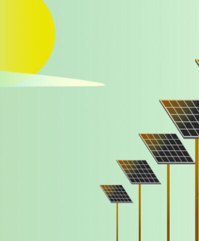 solar panel energy production